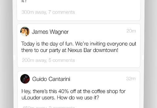 uLouder Ekran Görüntüleri - 1
