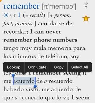 Ultralingua Dictionaries Ekran Görüntüleri - 3