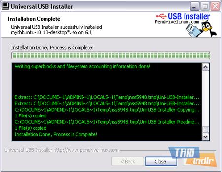 Universal USB Installer Ekran Görüntüleri - 1