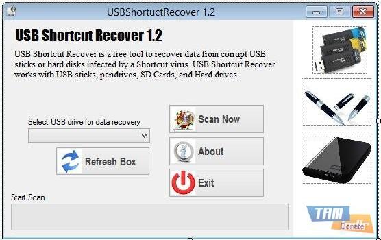 USBShortcutRecover Ekran Görüntüleri - 1