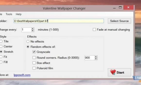 Valentine Wallpaper Changer Ekran Görüntüleri - 1