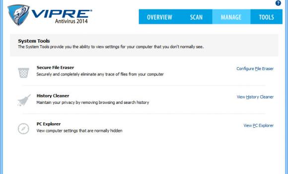 VIPRE Antivirus Ekran Görüntüleri - 1