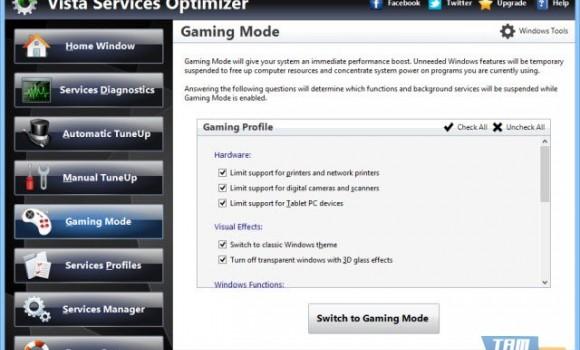 Vista Services Optimizer Ekran Görüntüleri - 3