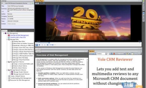 Vole CHM Reviewer Ekran Görüntüleri - 1