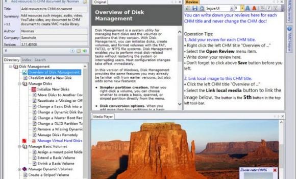 Vole Media CHM Ekran Görüntüleri - 3