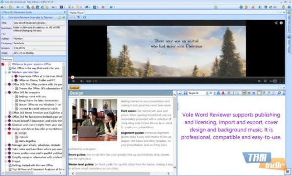 Vole Word Reviewer Ekran Görüntüleri - 3