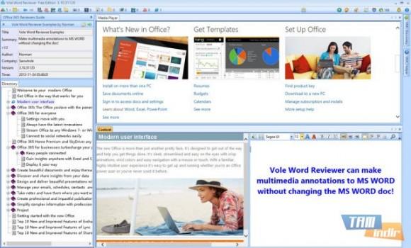 Vole Word Reviewer Ekran Görüntüleri - 1