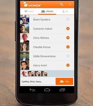 Voxer Telsiz Bas-Konuş Ekran Görüntüleri - 5