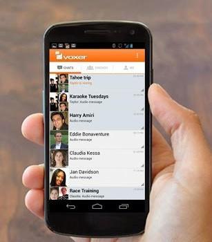 Voxer Telsiz Bas-Konuş Ekran Görüntüleri - 1