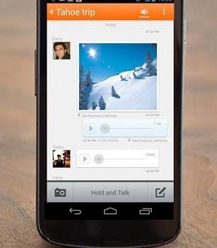 Voxer Telsiz Bas-Konuş Ekran Görüntüleri - 2