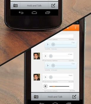 Voxer Telsiz Bas-Konuş Ekran Görüntüleri - 4