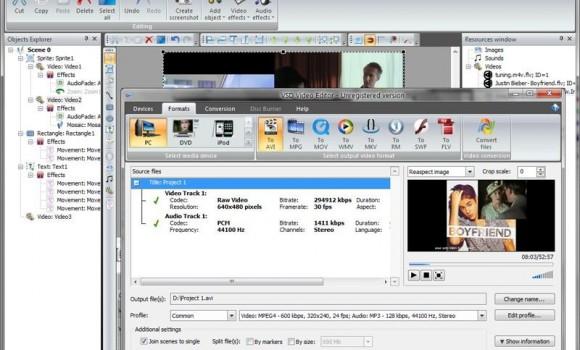 VSDC Free Video Editor Ekran Görüntüleri - 1