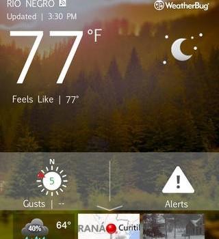 WeatherBug Ekran Görüntüleri - 5