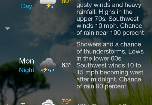 WeatherBug Ekran Görüntüleri - 3