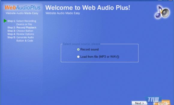 Web Audio Plus Ekran Görüntüleri - 1