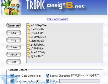 Webmaster Password Generator Ekran Görüntüleri - 1