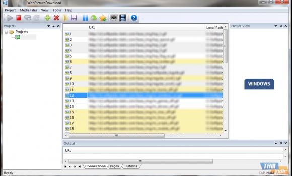 WebPictureDownload Ekran Görüntüleri - 1
