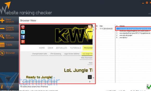 Website Ranking Checker Ekran Görüntüleri - 2