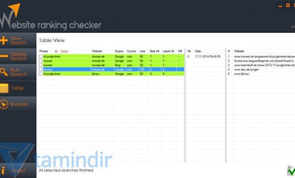Website Ranking Checker Ekran Görüntüleri - 3