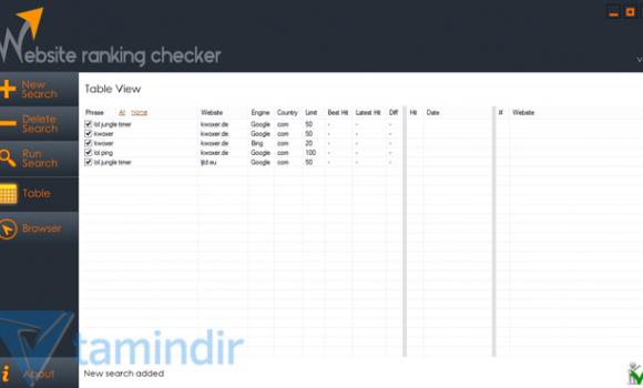 Website Ranking Checker Ekran Görüntüleri - 4