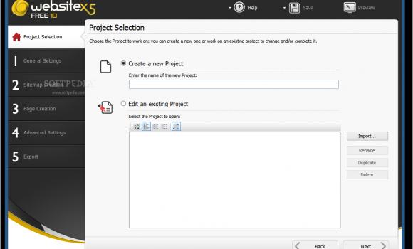 WebSite X5 Free Ekran Görüntüleri - 3