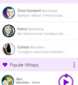 Whispto Ekran Görüntüleri - 4