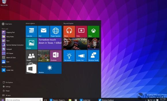 Windows 10 Ekran Görüntüleri - 1
