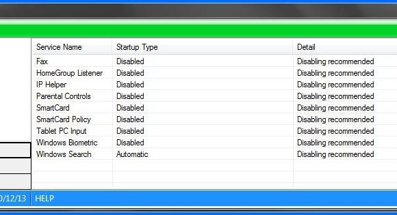 Windows 7 Booster Ekran Görüntüleri - 3