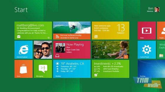 Windows 8 Release Preview Ekran Görüntüleri - 2