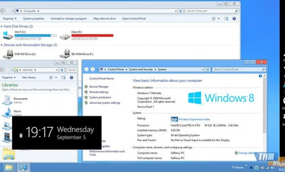Windows 8 Transformation Pack Ekran Görüntüleri - 2