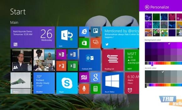 Windows 8.1 Preview (Önizleme) Ekran Görüntüleri - 1