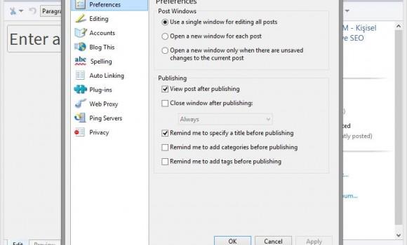 Windows Live Writer Ekran Görüntüleri - 2
