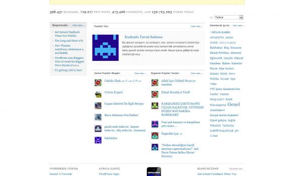 Wordpress.com Ekran Görüntüleri - 1