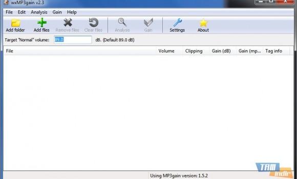 wxMP3gain Ekran Görüntüleri - 1