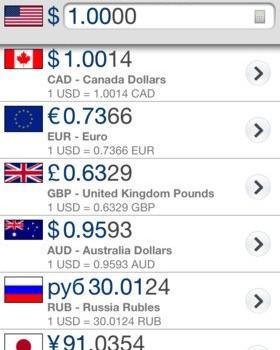 XE Currency Ekran Görüntüleri - 5