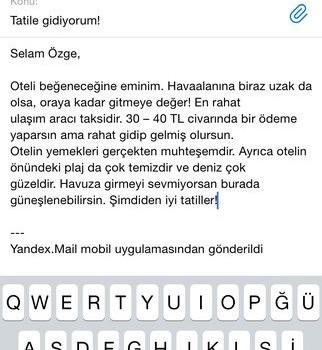 Yandex.Mail Ekran Görüntüleri - 4