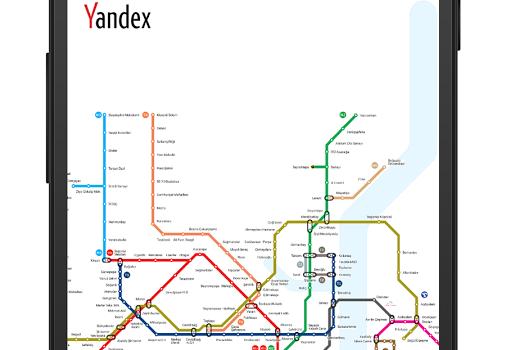 Yandex.Metro Ekran Görüntüleri - 5