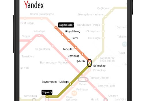 Yandex.Metro Ekran Görüntüleri - 1