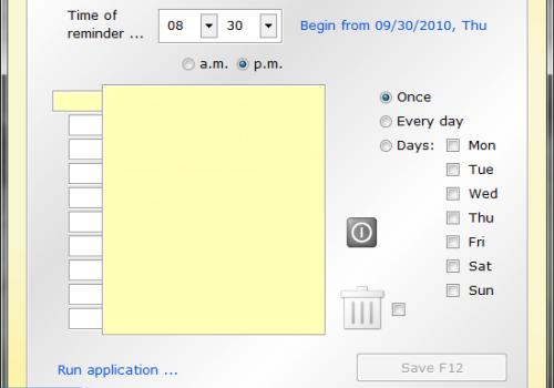 Yellow Reminder Ekran Görüntüleri - 3
