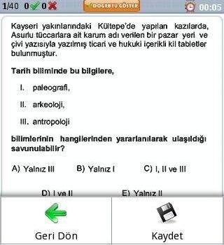 YGS Cepte Ekran Görüntüleri - 2