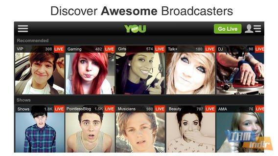 YouNow Ekran Görüntüleri - 1