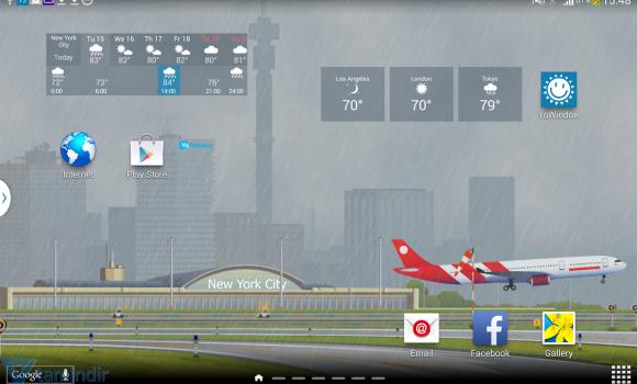 YoWindow Free Weather Ekran Görüntüleri - 3