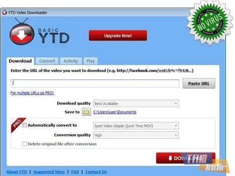YTD Video Downloader Ekran Görüntüleri - 1