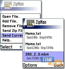 ZipMan Ekran Görüntüleri - 1
