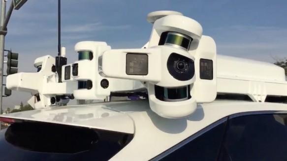 İşte Apple'ın Sürücüsüz Araç Teknolojisi