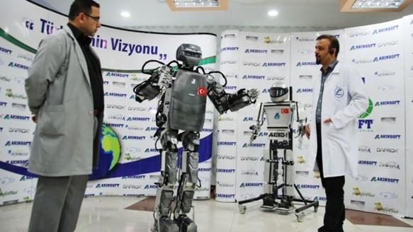 Milli İnsansı Robotumuz Yolda