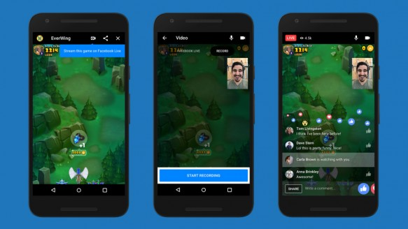 Messenger Oyunları Artık Canlı Yayında