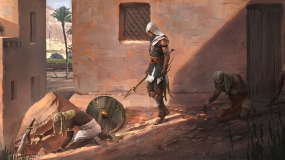 Yeni Assassin's Creed'den Sızıntı