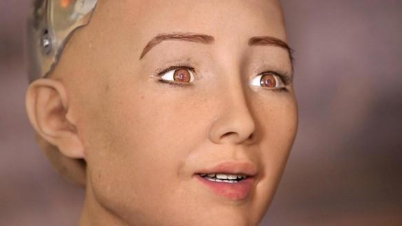 Robot Sophia Türkiye'de