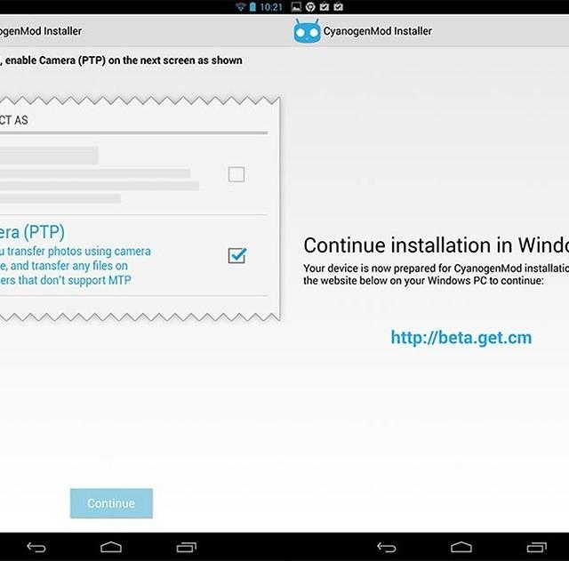 CyanogenMod Installer İndir - Android İçin CyanogenMod Kurma